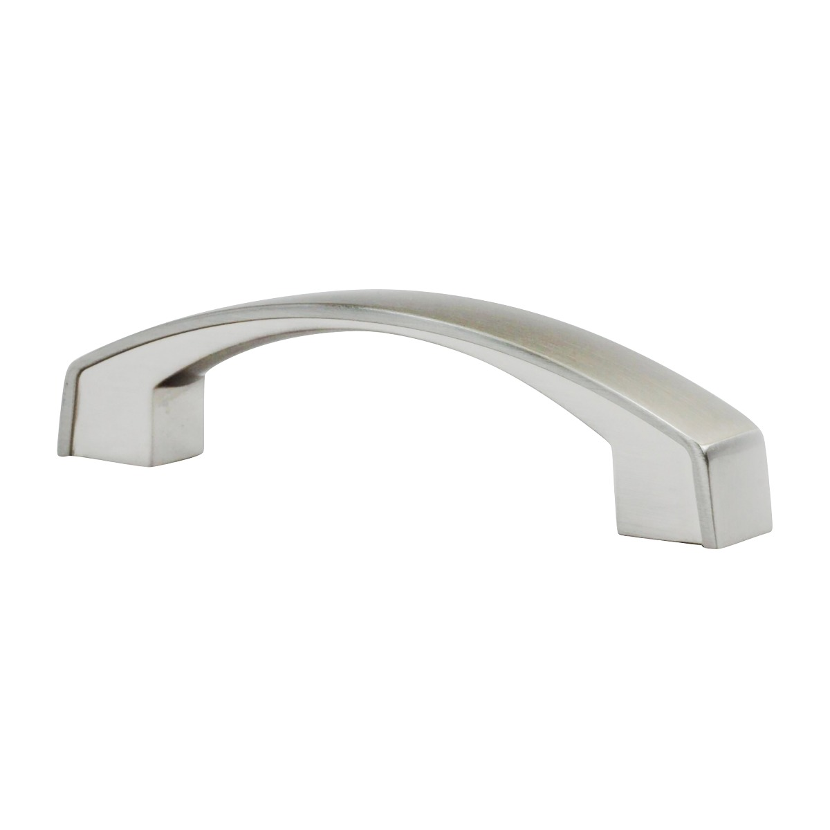 Picture of: Transitional Style 3 3 4 96mm Center To Center Overall Length 5 Brushed Nickel Cabinet Hardware Pull Handle