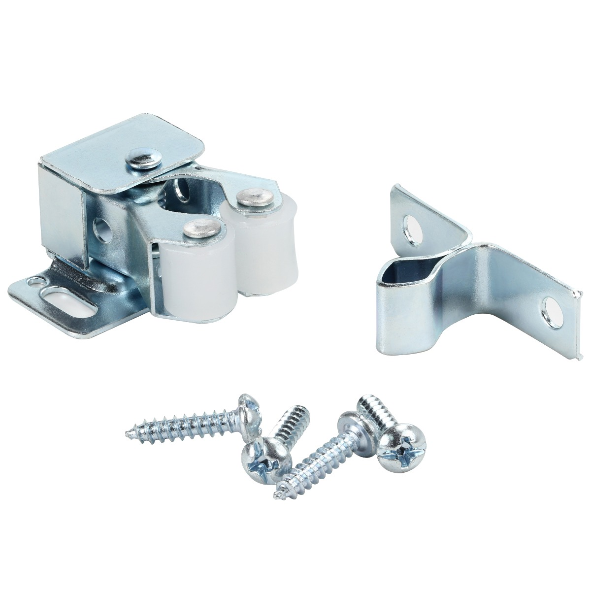 Rok Hardware Zinc Double Roller Catch With Prong For Cabinet Doors Rv Cabinet Latch Camper Cabinets Kitchen Cabinets Dressers