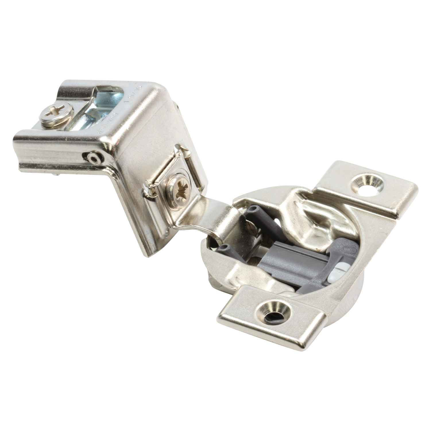 Blum 39 C Cabinet Hinges Compact 1 Inch Overlay Self Close Screw on 39C355C.16