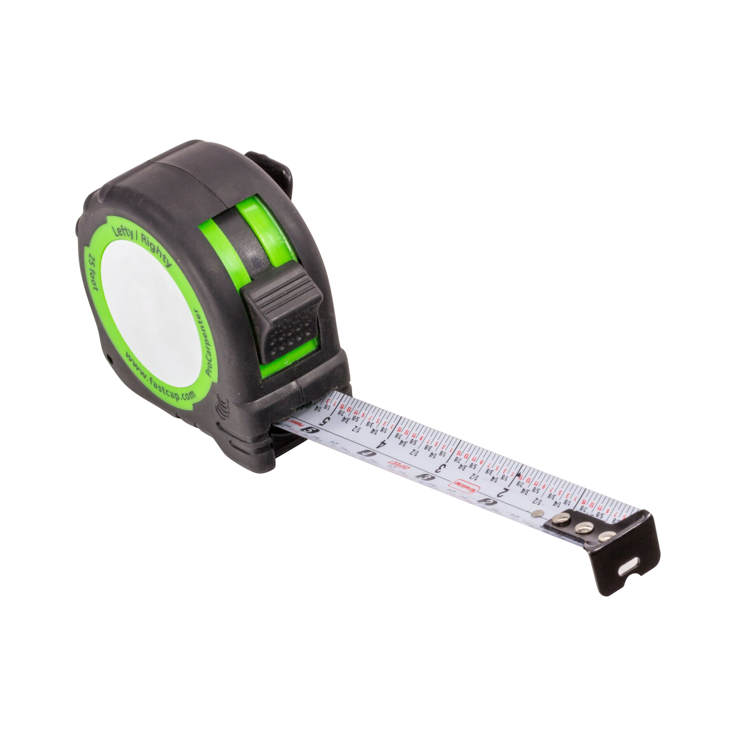 FastCap PSSR25 25 foot Lefty//Righty Measuring Tape